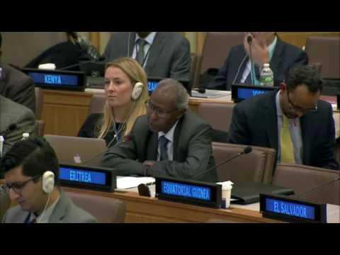 Eritrean official makes Oromo protest sign at UN