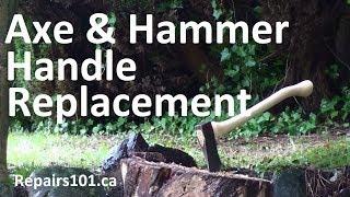 Axe & Hammer Handle Replacement - Oldschool