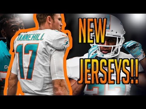ADDITION BY SUBTRACTION?! DOLPHINS FAN REACTION TO THE MIAMI DOLPHINS NEW JERSEYS!