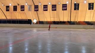 Анна Штефан Танго на льду Одиночное катание