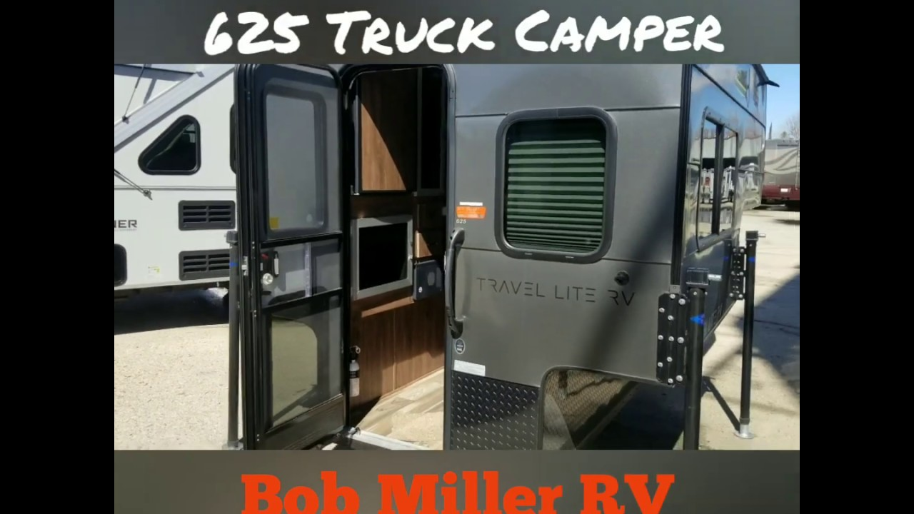 2019 Travel Lite 625 Truck Camper