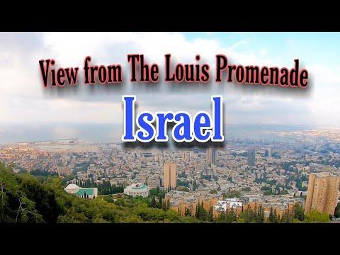 Walking Around The Louis Promenade And Baha'i Gardens | Exploring Haifa, Israel