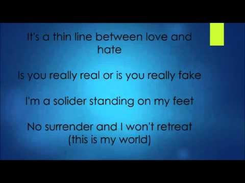 Aloe Blacc The Man with Lyrics On Screen