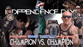WarChain vs Foul Mouth Aussie: Title for Title Independence Day 2019
