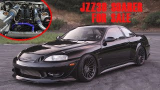 JZZ30 Soarer Drift car from Powervehicles, Ebisu, Available for Export Worldwide