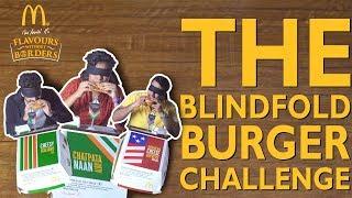 The Blindfold Burger Challenge
