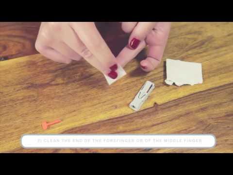 Prima Home Test - Using the Finger Lancet