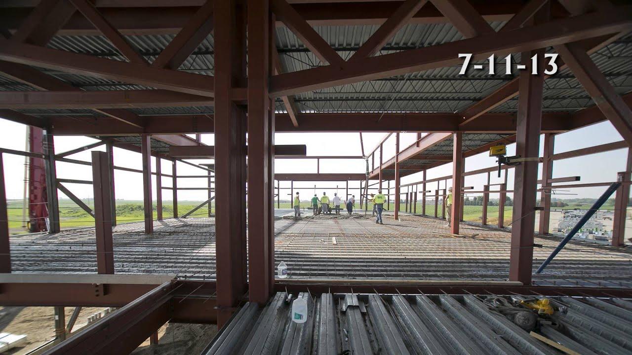 New Office 2nd Floor Concrete Timelapse 1 Youtube