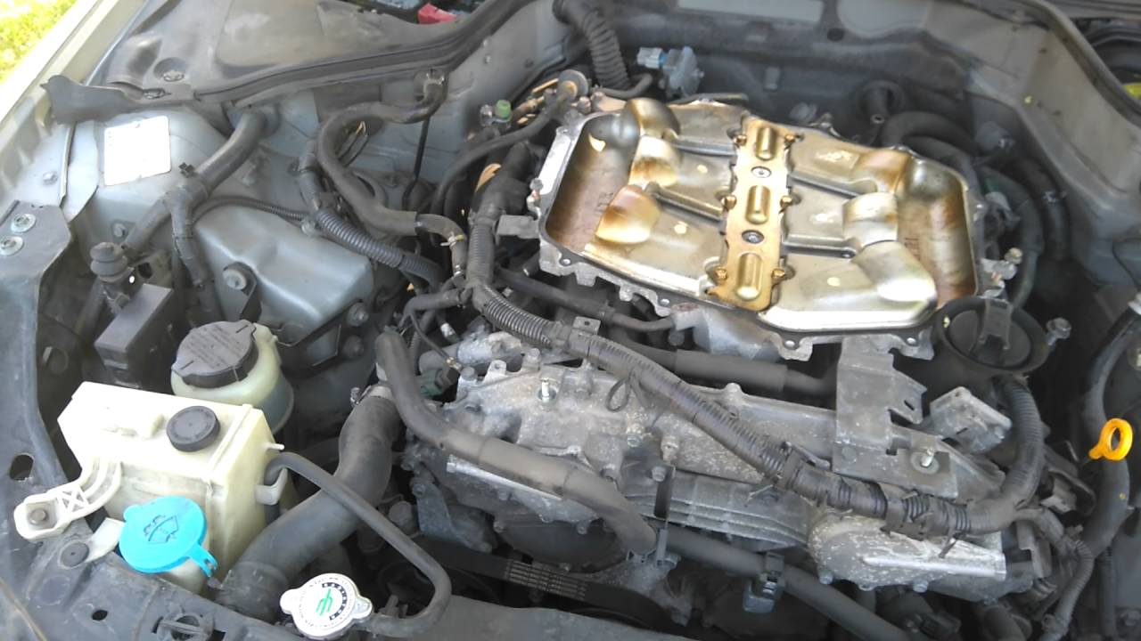 Vq35de G35 350z Knock Sensor Replacement Youtube