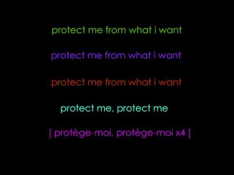 Protège-Moi by Placebo with Lyrics