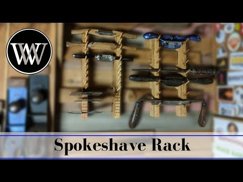 French Cleat Rack for Spokeshaves and Card Scrapers | Hand Tool Storage