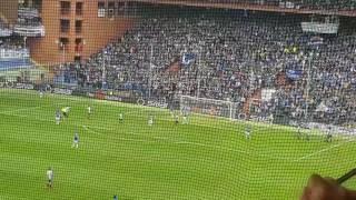 19.03.2017 Sampdoria Juventus. Il gol di cuadrado che decide il match.