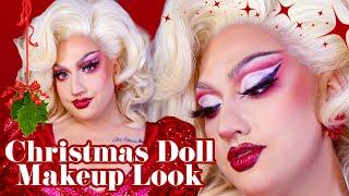 Festive Christmas Drag Queen Makeup Tutorial w/ Lagoona Bloo 🎁