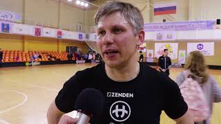 "Interview with Anatoly Bykov. Referee Unihoc Russia Cup and Head Coach ""Nauka-SAFU"" Video"