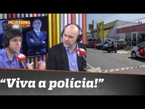 """""""Viva a polícia"""": Coppolla e Alexandre Borges comentam ação que deixou 11 bandidos mortos"""