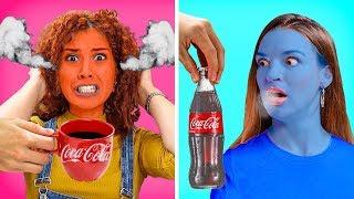 24 SAATLİK SOĞUK VE SICAK YEMEK MEYDAN OKUMASI! || 123 GO! GOLD Turkish'ten Komik Meydan Okumalar