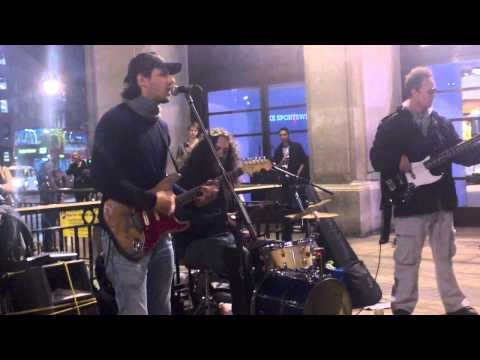 London Oxford Street Live music band HD 720p