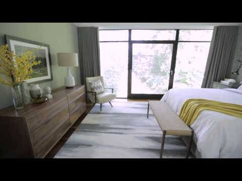 Interior Design —Tailored, Industrial & Masculine Bedroom Makeover