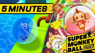 5 Minutes of Sonic in Super Monkey Ball: Banana Blitz HD | Nintendo Switch