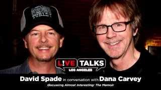 David Spade in conversation with Dana Carvey