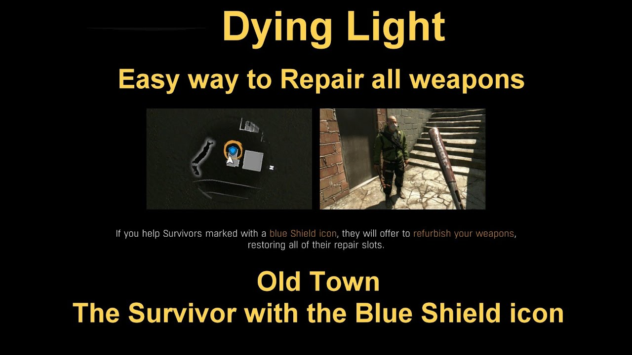 Dying light blue icon survivor healing those kickass weapons dying light blue icon survivor healing those kickass weapons malvernweather Gallery