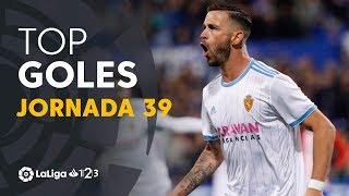 Todos los goles de la Jornada 39 de LaLiga 1 2 3 2018/2019