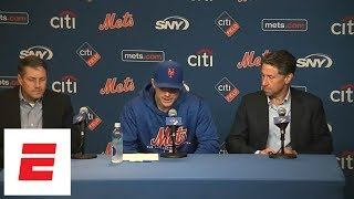 David Wright's emotional press conference announcing one last game with Mets | ESPN