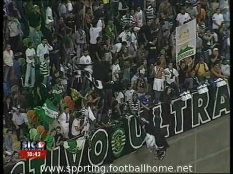Sporting - 2 x Malmo - 0 de 2003/2004 Uefa