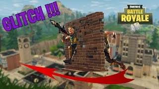 FORTNITE - GLITCH TRAVERSER MURS TO TILTED TOWERS