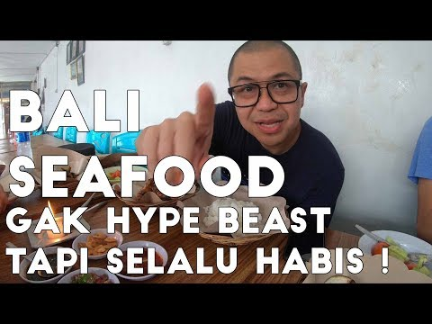 Cheap And Super Delicious Hidden Seafood Place In Bali