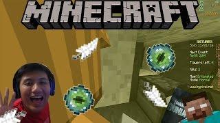 HANTU DI SKYWARS?! | Minecraft Skywars Indonesia