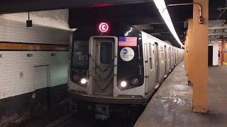 NYC Subway HD 60fps: Alstom R160A C Train Departing 145th Street (4/5/17)