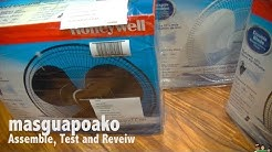 """Honeywell 16"""" Pedestal  Stand Fan with Double Blades Assemble, Test and Review"""