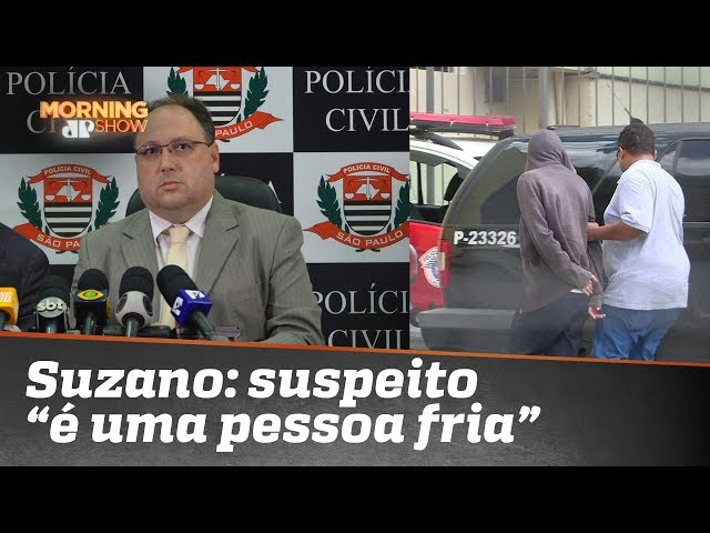 """Massacre em Suzano: """"É uma pessoa fria"""", diz delegado sobre menor apreendido"""