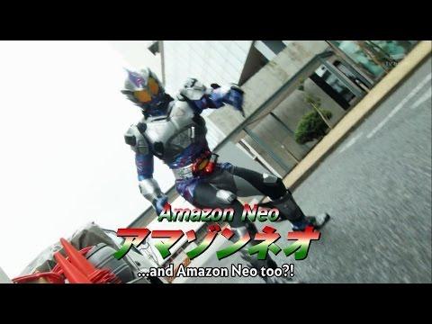 Chou Super Hero Taisen Trailer - Kamen Rider Amazon, Omega, Alpha and Neo
