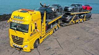 Peperdure auto's vervoeren met geavanceerde truck van Kuzee Autologistiek!