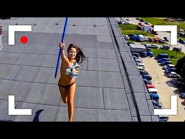 Weird Things Caught On Camera By Drone!