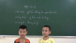 Tiếng Việt lớp 2: Phần thưởng -Giải thích nghĩa của từ và trả lời các câu hỏi