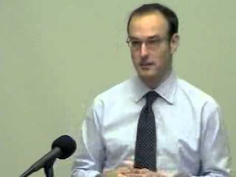 "Angus Burgin, ""Planning against Planning,"" Hayek Lecture Series"