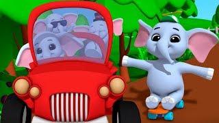 Ek Mota Hathi Poem | Kids Tv India | Hindi Rhymes For Childrens | एक मोटा हाथी | Hindi Poems