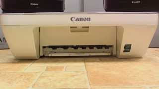 Canon MG2450 - Change Ink Cartridge