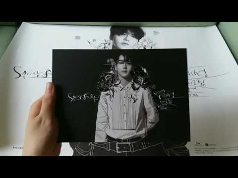 Yesung예성 2nd mini album Spring Falling Normal&Limited edition unboxing