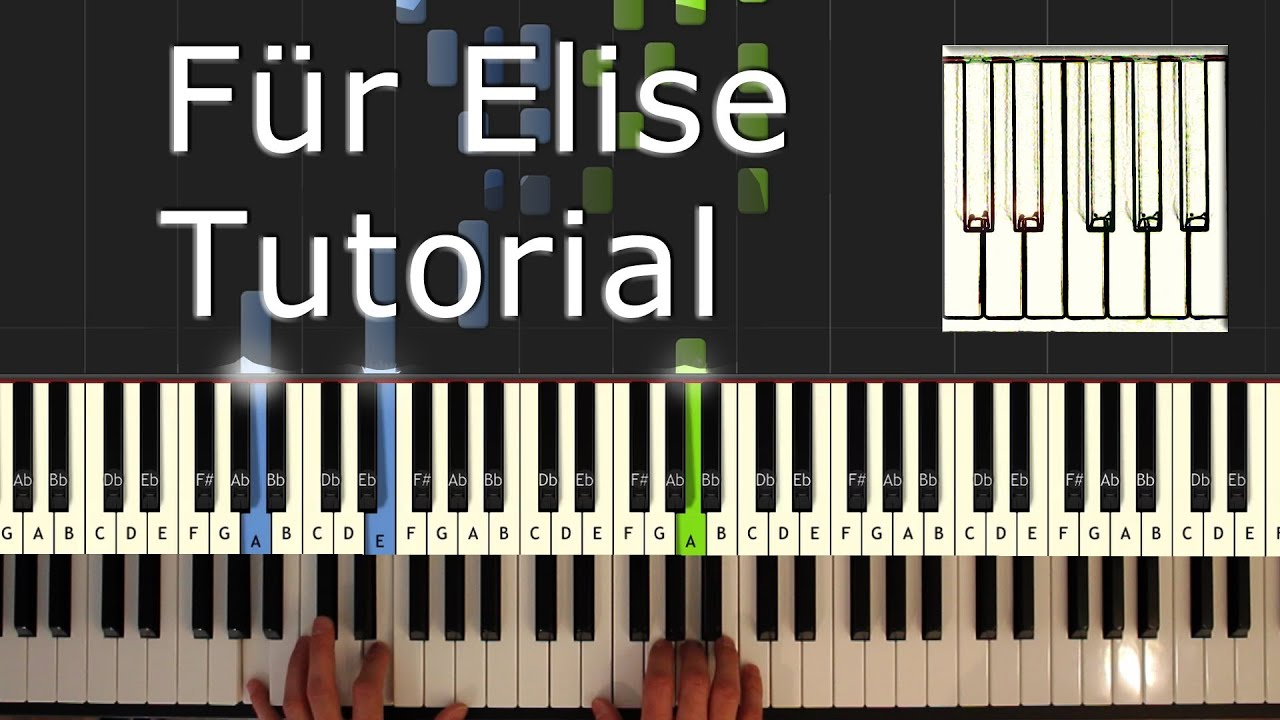 how to play for elise on the piano