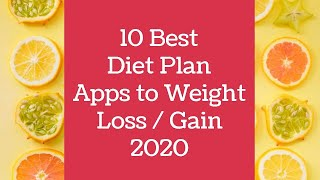 Hi friends, in this video we are going to see about 10 best diet plan apps 2020 from android app store have perfect meal everyday make your life h...