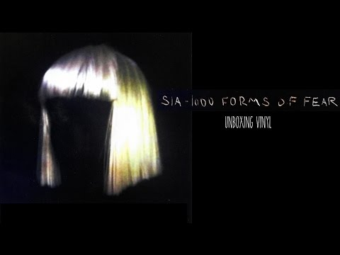 """1000 Forms Of fear"" Sia Unboxing Vinyl LP Edition"