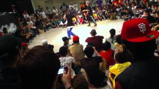 WU-TAN優勝 Be.b-boy OSAKA FINALBATTLE.