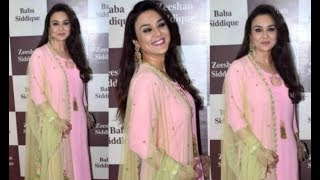 Gorgeous Preity Zinta At Baba Siddique's Grand Iftaar Party 2017   Bollywood Updates