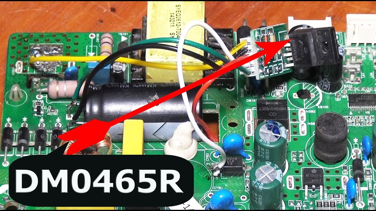LED or smart TV Power Repair by STR-DMO465R #Pro Hack