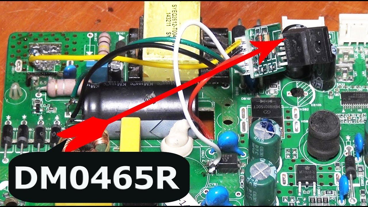 smart wiring diagram led or    smart    tv power repair by str dmo465r pro hack  led or    smart    tv power repair by str dmo465r pro hack