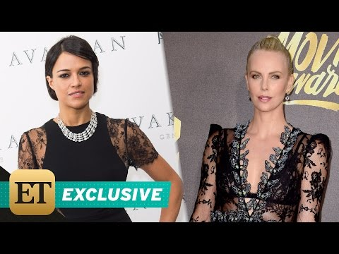 EXCLUSIVE: Michelle Rodriguez Says Charlize Theron in 'Fast 8' Is the 'Most Powerful Villain' Yet